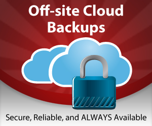 Off-Site Cloud Backups